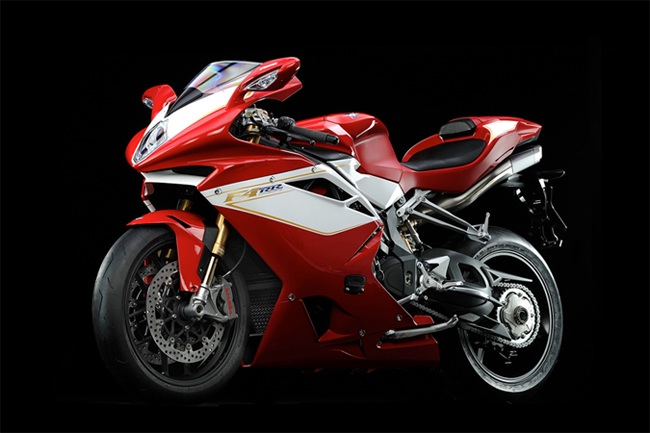 MV Agusta unveiled its new 2012 model F4 RR during the week.