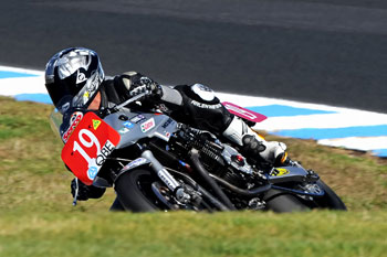 Shawn Giles was in stunning form at Phillip Island last weekend.