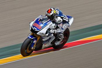 Lorenzo sets the pace at Motorland Aragon MotoGP test