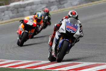 Lorenzo stretches series lead in Spain, Stoner fourth