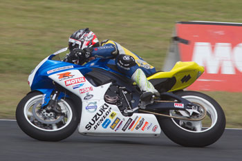 Waters wins action-packed QLD ASBK Supersport round