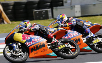 On track from Red Bull MotoGP Rookies to Moto3