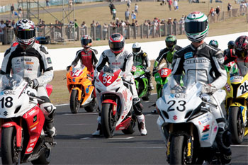 Bumper grid set for Phillip Island Prostock and 'WSBK Cup' Superbike races