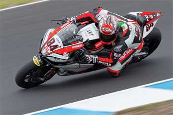 Fabrizio and Lowes quickest after opening Australian qualifying