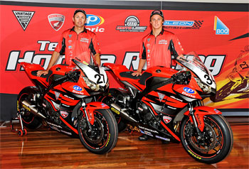 Team Honda Racing launched in Melbourne's Docklands