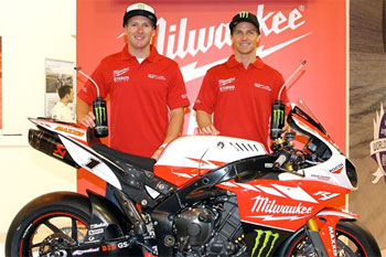 Waters ready for first Milwaukee Yamaha test at Donington