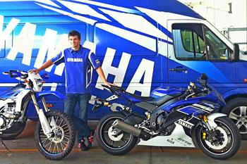 Yamaha signs motorcycle freestyle stunt ace Dave McKenna