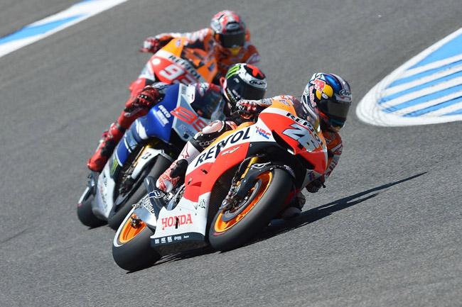 Dani Pedrosa en route to a Spanish Grand Prix victory. Image: MotoGP.com.