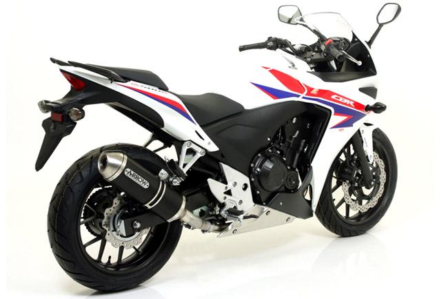 Arrow exhaust system now available for 2013 Honda CBR500R-CB500F