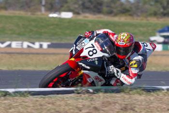 Blair wins opening Supersport affair at Queensland Raceway