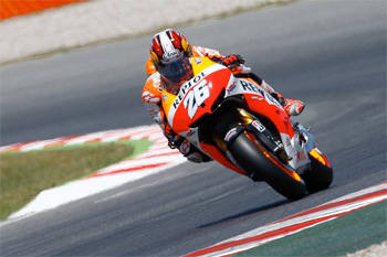 Pedrosa smashes Catalunya record with pole position in Spain