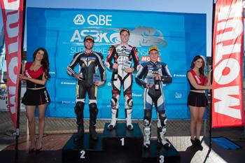 Blair completes Queensland Raceway Supersport sweep
