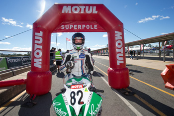 Chris Quinn claims Australian Supersport pole position in Queensland