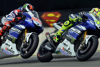 Wednesday Wallpaper: Valentino Rossi and Jorge Lorenzo
