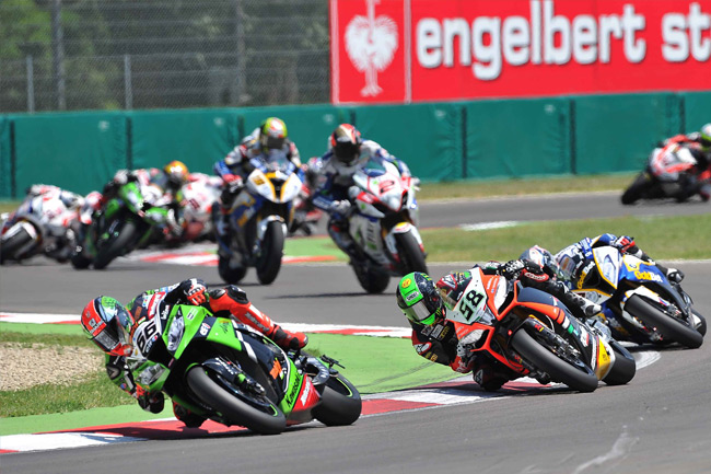 Tom Sykes proved impossible to stop at Imola this weekend.
