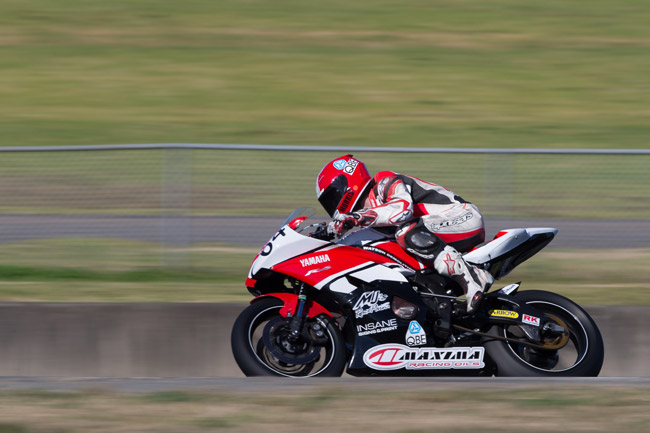 Aaron Morris will be battling at the front of the Supersport field this weekend. Image: Andrew Gosling/TBG Sport.