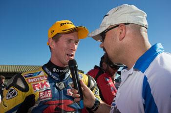 Maxwell leads Suzuki sweep in first Superbike race in Sydney