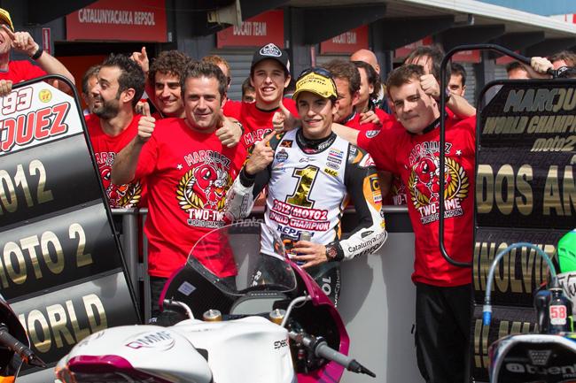 Rewind: Marquez' 2012 Moto2 title journey