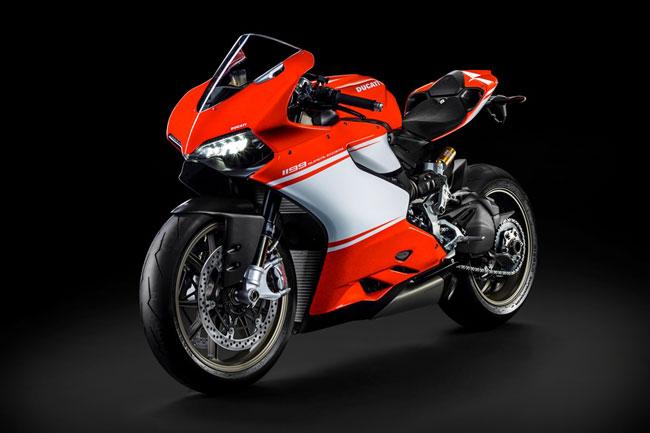 Ducati releases special edition 1199 Superleggera