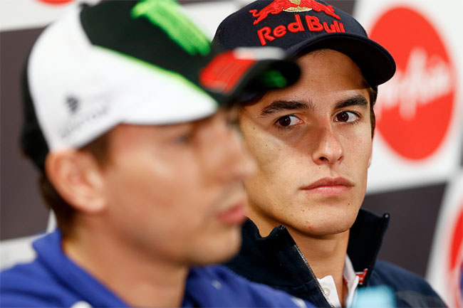 Marc Marquez and Jorge Lorenzo will resume battle this weekend.