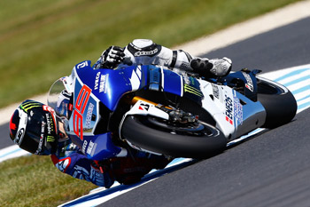 Lorenzo leads both practice sessions on opening day of Australian Grand Prix