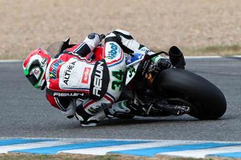Aprilia's Giugliano fastest in first WSBK qualifier at Jerez
