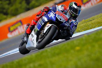 Lorenzo on pole for Australian Motorcycle Grand Prix