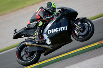 Initial Ducati experience promising for Crutchlow at Valencia tests