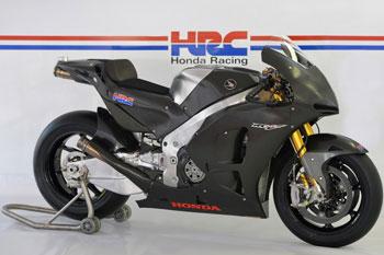 Honda's RCV1000R 'production racer' unveiled at Valencia