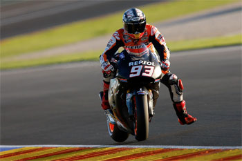 Marquez quickest on day two of MotoGP testing at Valencia