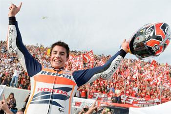 Rookie MotoGP championship victory a dream come true for Marquez