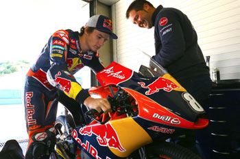 Miller completes second test with Red Bull KTM Ajo at Almeria