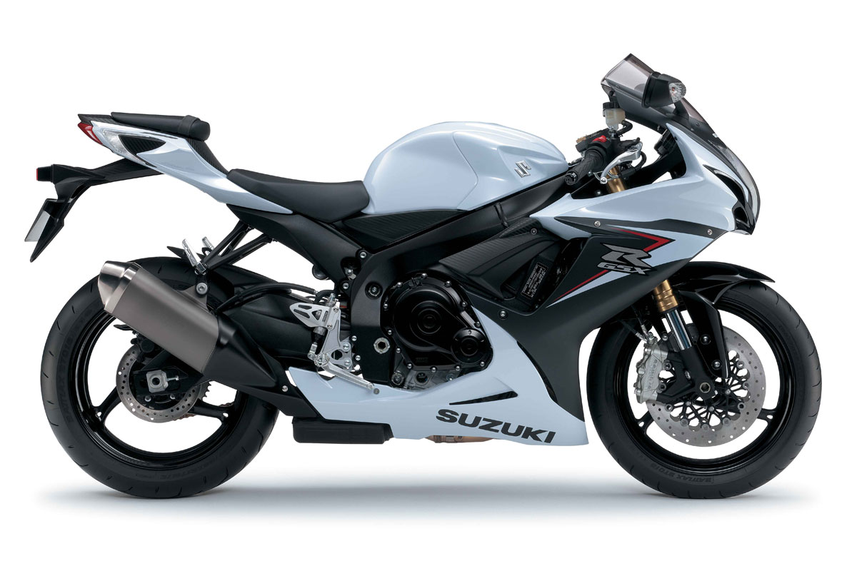 Suzuki Gsxr Black And White