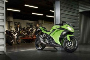 Kawasaki Ninja 300 the top-selling road model in 2014 to date