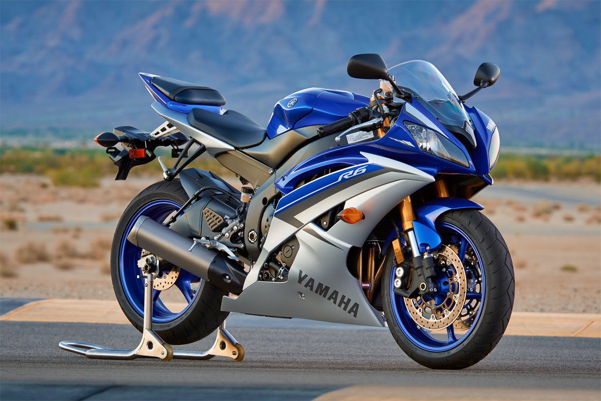 yamaha 39 s yzf r6 remains unchanged for 2015 cycleonline. Black Bedroom Furniture Sets. Home Design Ideas