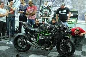 Kawasaki Ninja H2R viewing a success in Sydney