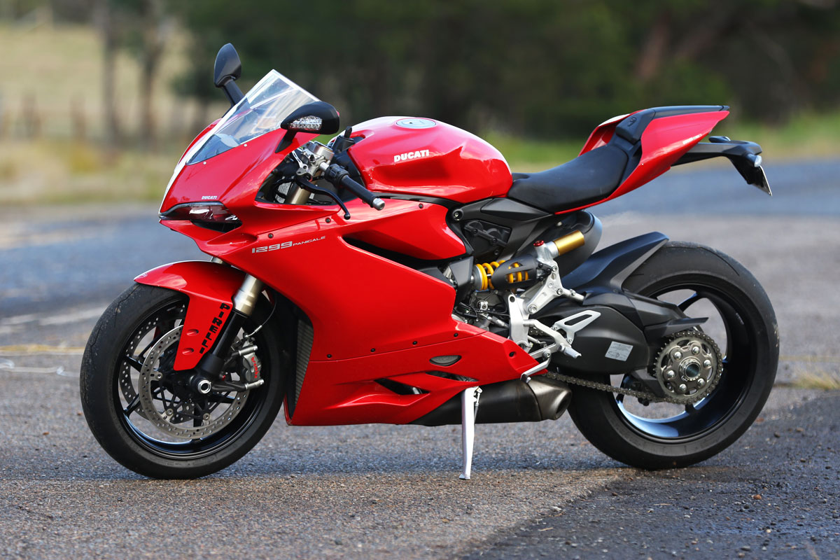 Ducati  Panigale Red