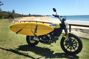 Surfs up for Ducati Scrambler in Queensland