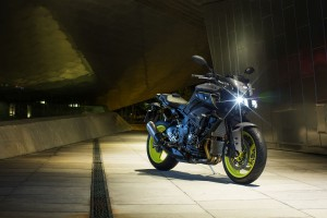 Yamaha's flagship MT-10 headlines EICMA display