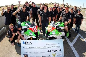 SA Kawasaki BCperformance team declare victory in Adelaide