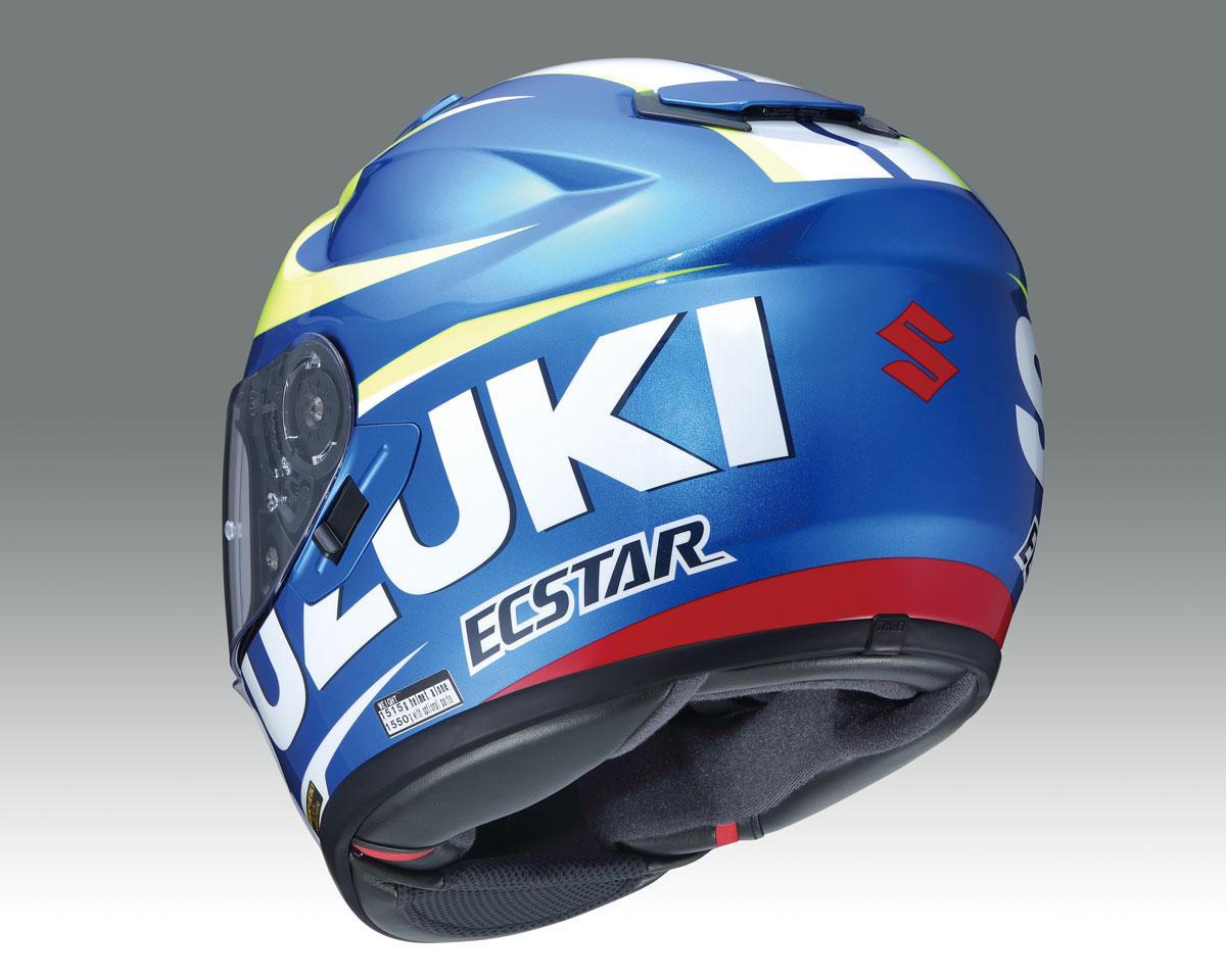 product shoei gt air suzuki motogp helmet cycleonline. Black Bedroom Furniture Sets. Home Design Ideas