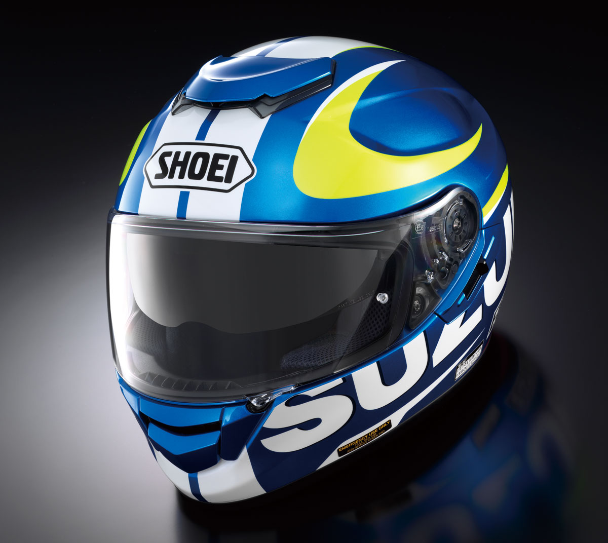Product: Shoei GT-Air Suzuki MotoGP helmet - CycleOnline.com.au