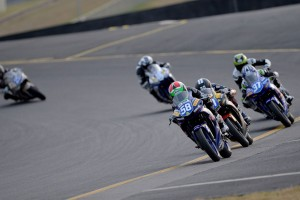 Alderson just too strong in the YMF Yamaha R3 Cup