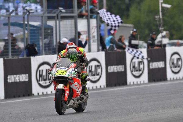 Crutchlow charges to historic Brno MotoGP victory
