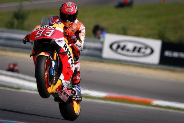 Miraculous Marquez tops Friday MotoGP practice at Brno
