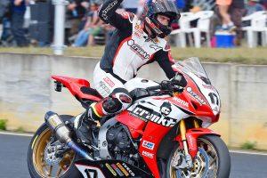 Perfect weekend for Crankt Protein Honda Racing Team's Herfoss