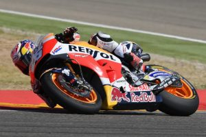 Repsol Honda conducts another post-race test at Aragon