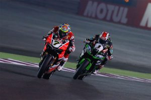 Davies wins race one, Rea the WorldSBK championship in Qatar