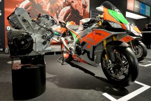 Aprilia puts MotoGP technology into customer superbikes