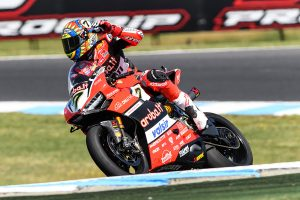Pair of Phillip Island runner-up results a positive for Davies